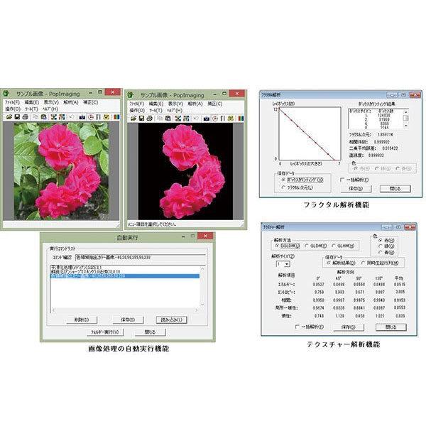 画像処理・画像解析ソフトウェア「PopImaging」のイメージ画像