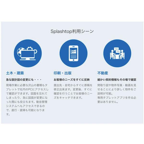 タブレットから会社のパソコンが使える!「Splashtop Business」のイメージ画像