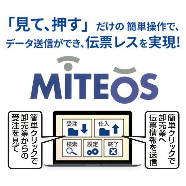 受注・仕入伝票発送業務を簡素化する「MITEOS」のイメージ画像