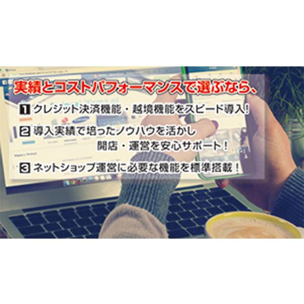 ネットショップ開設を応援!!コスパの良いサイト制作のイメージ画像