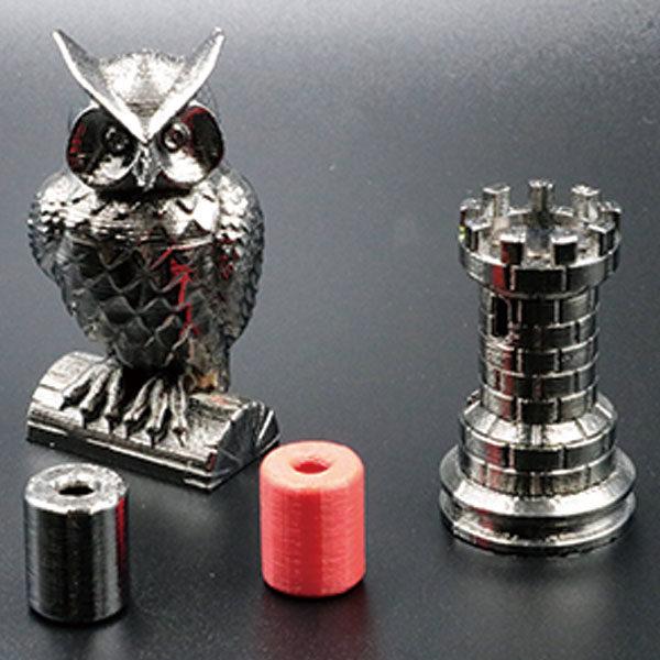 3Dプリンタ造形品めっきのイメージ画像