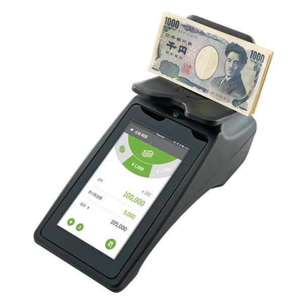 全面タッチスクリーン現金カウンターのイメージ画像