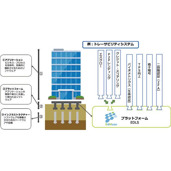 デザイン思考による共創型のDX推進をします〜日本初!ブロックチェーンプラットフォーム(EDLS)を開発〜のイメージ画像