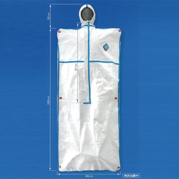 デュポン™タイベック®ソフトウェア ESB 緊急避難用寝具(寝袋タイプ)のイメージ画像