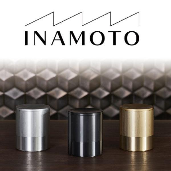 アルミニウム素材の美しさをINAMOTOの技術で表現した容器のイメージ画像