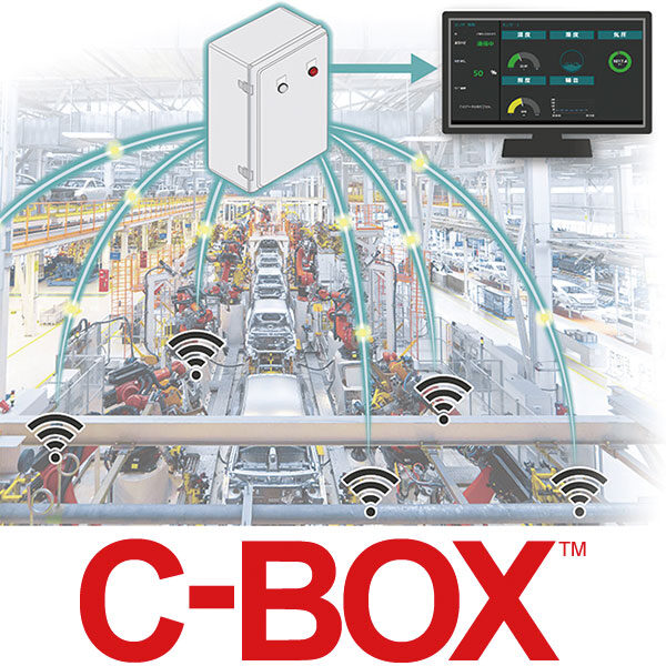 業界初 セミカスタムメイドで生産現場の設備をつなげる「C-BOX™」を発売のイメージ画像