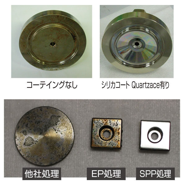 半導体製造時の金属汚染や腐食を防ぐ技術のイメージ画像