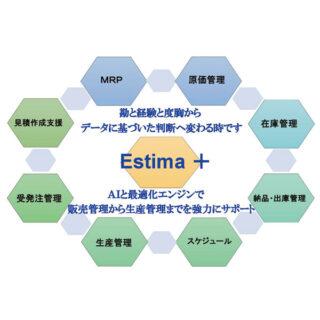 見積作成支援・生産工程管理システム『Estima+』のイメージ画像