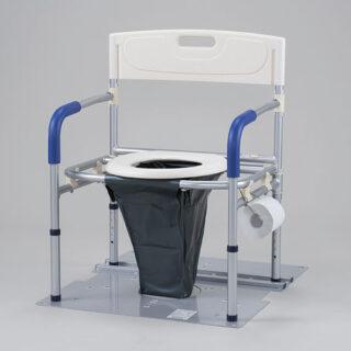 災害用マンホールトイレ 洋式ワイドタイプ VE100Wのイメージ画像