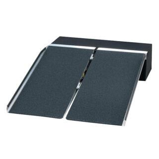 段差解消用ポータブルスロープ アルミ2折り式タイプ PVSのイメージ画像