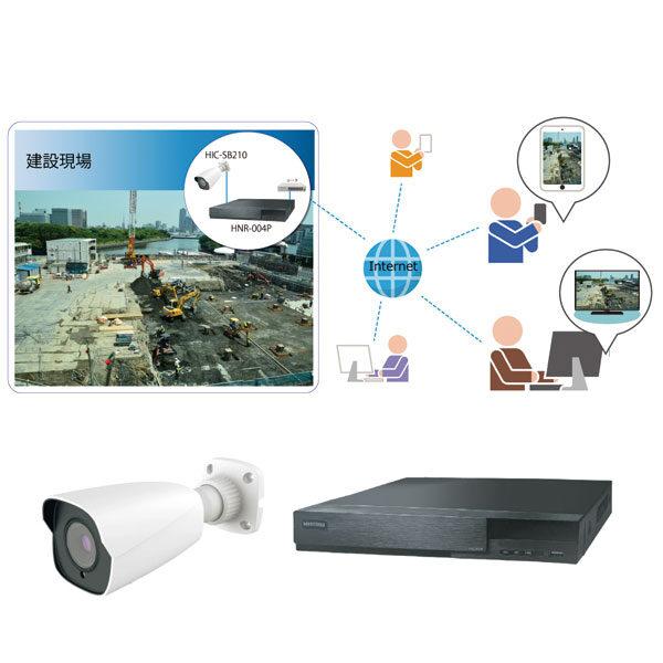 建設現場の安全対策に「リアルタイム映像モニタリングシステム」のイメージ画像
